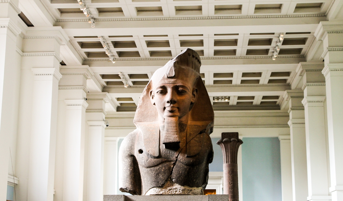 Sphinx from the Egyptian Collection, British Museum
